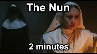 The Nun in 2 Minutes... in original asian accent 2分钟看完吓到你啊...
