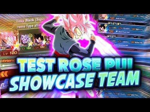 ROSE PUI EST BEAUCOUP TROP FORT (TEST ROSE PUI / NOUVELLE TEAM EXTRÊME  !!)- Dokkan Battle
