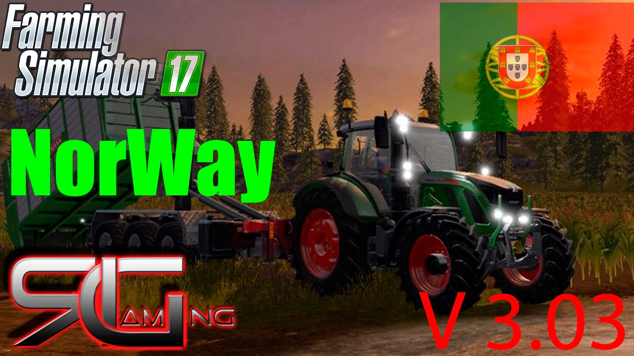 Farming Simulator Norway V YouTube - Norway map farming simulator 2015