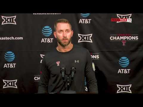 2018 Texas Tech Football Postgame Pressers - Kingsbury after WVU