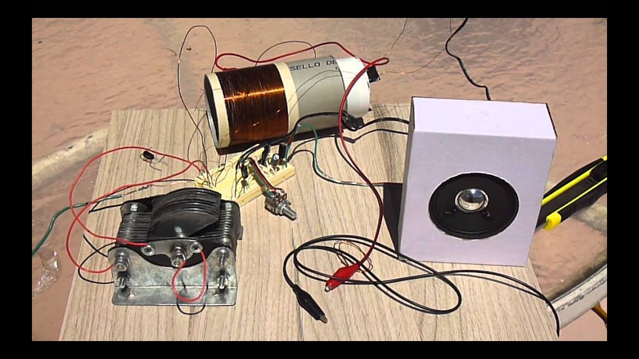 lm386 amplified crystal radio youtube