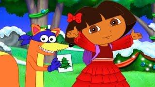 Dora la Exploradora - Dora Aventura de Navidad - Juegos para Niños en Español
