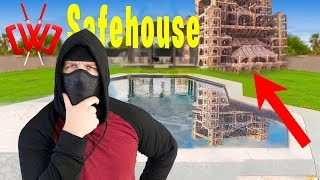BUILDING (EPIC) CWC Spy Ninja SAFEHOUSE In FORTNITE Battle Royale Chapter 2 Chad Wild Clay Vy Qwaint