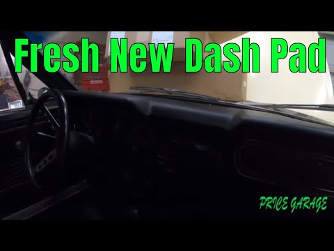 66 Mustang Dash Pad Replacement