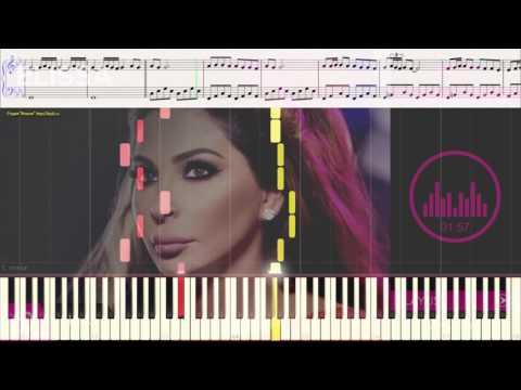 Law - Elissa (Ноты и Видеоурок для фортепиано) (piano cover)