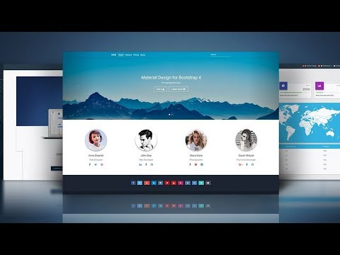 Material Design for Bootstrap PRO - 5 min Quick Start