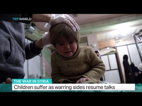 The War in Syria: Children suffer as warring sides resume talks