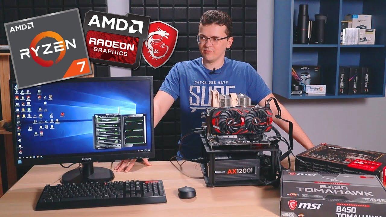 Почти топовая AMD-сборка на компонентах от MSI. Обзор и тест
