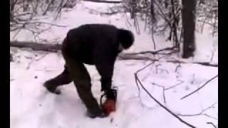 Татар бензопила (ПРИКОЛ) Фэрхэт хэм Фэрхэд