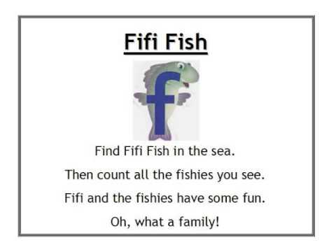 Alphafriends Fifi Fish