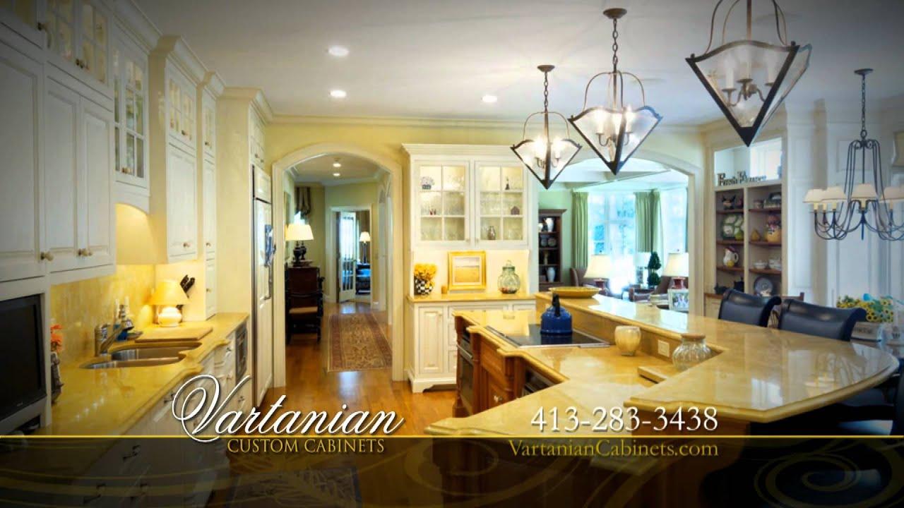 Vartanian Custom Kitchen Cabinets Western Massachusetts Youtube