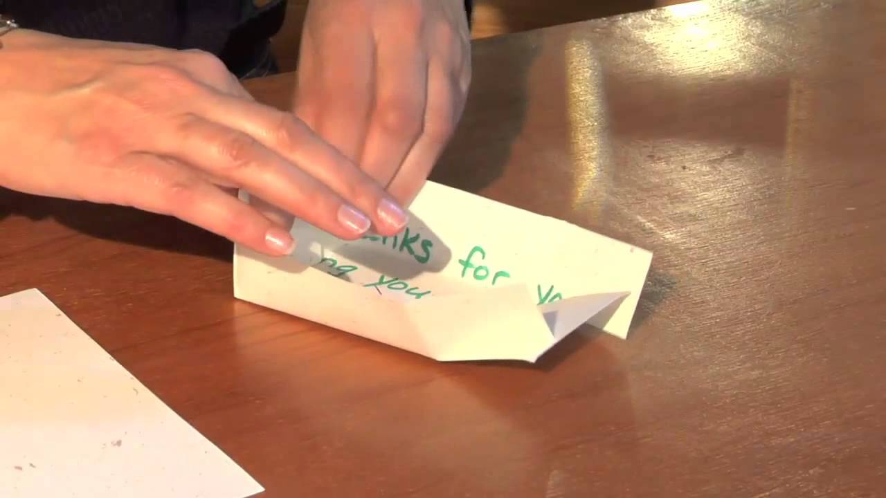 How To Make Paper Boxes Out Of Christmas Cards