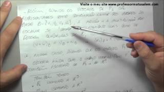 A L - 2 - 12 - espaços vetoriais isomorfos
