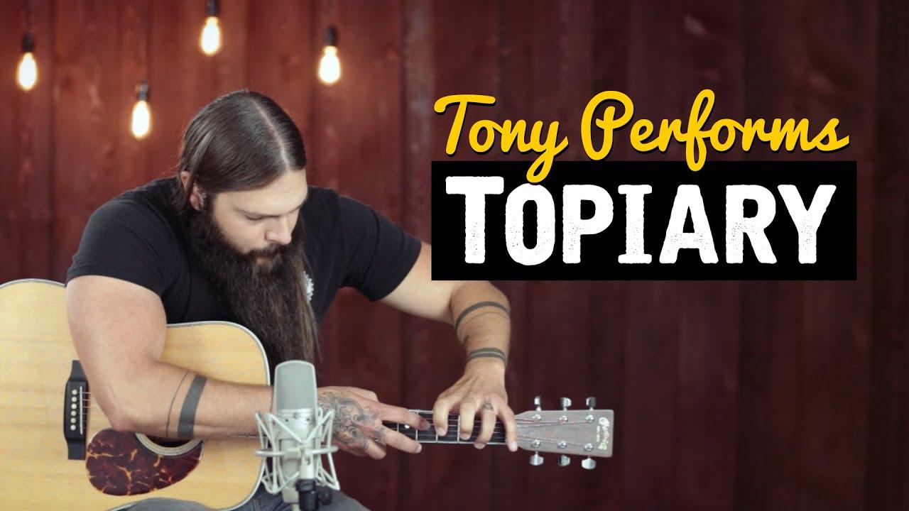 Topiary by Tony Polecastro - YouTube