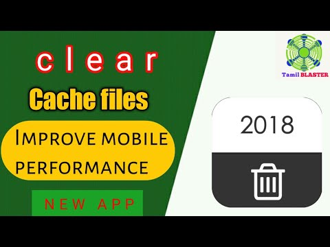Clear cache files in your mobile | Tamil BLASTER
