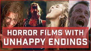The Most Unhappy Endings in Horror Films