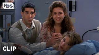 Friends: Ross, Carol and Susan hear the Baby's Heartbeat (Season 1 Clip) | TBS