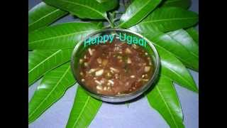 Ugadi Pachhadi (Pachadi)- Telugu New Year - ఉగాది పచ్చడి - Andhra Recipes