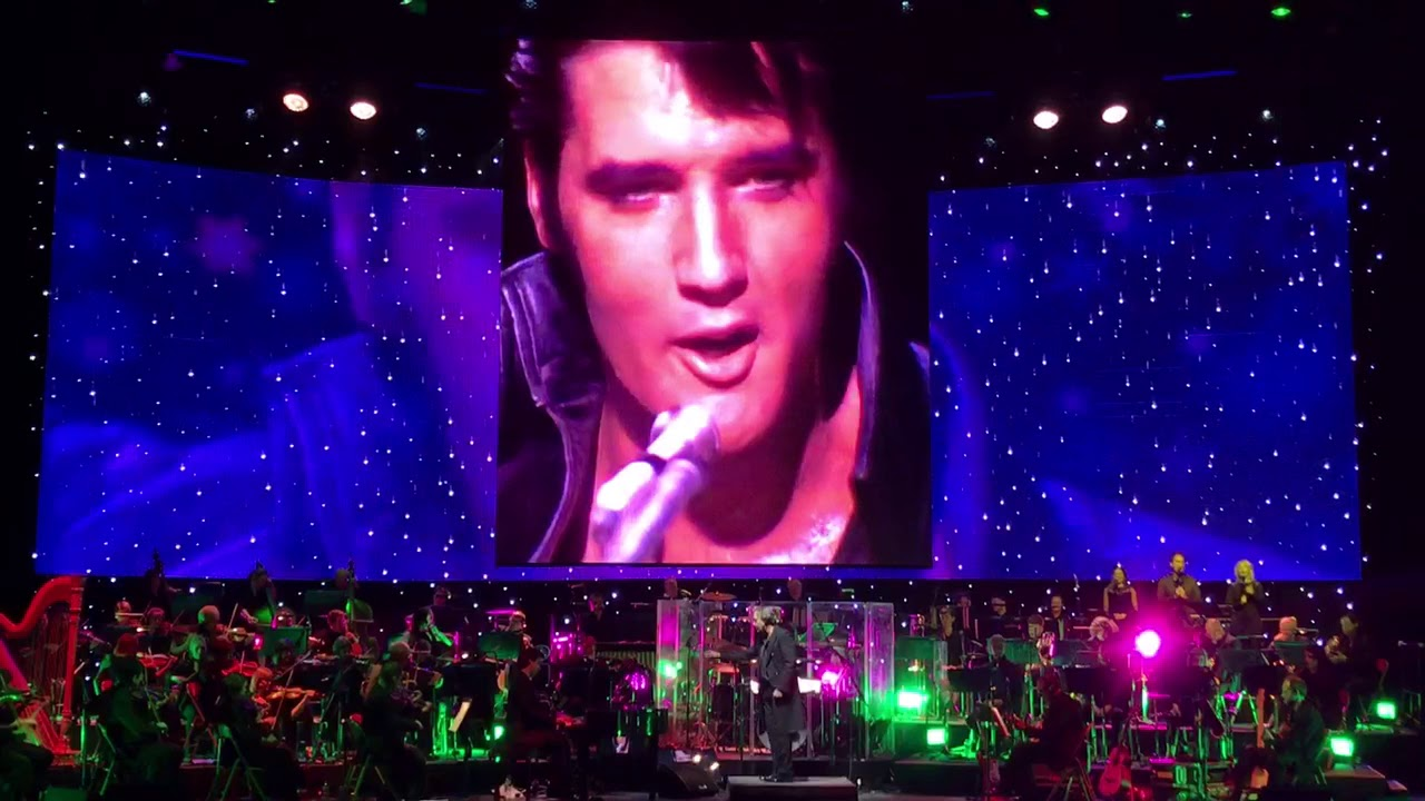 Elvis Presley - Blue Christmas Leeds 24.11.2017 - YouTube