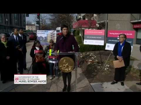 Mayor Bowser Announces Urgent Effort to Create & Preserve Homes, 12/4/17
