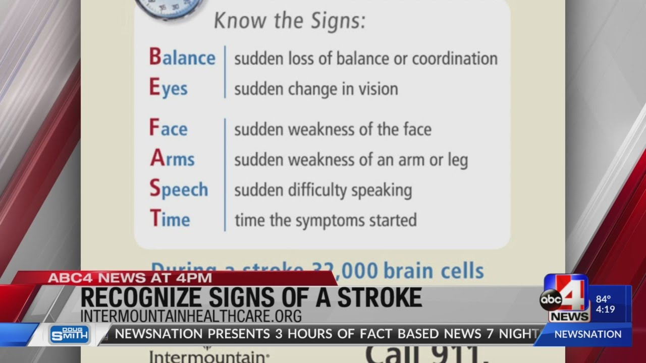 Time is Brain – How to Recognize the Signs and Symptoms of a Stroke