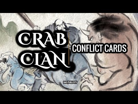 [Legend of the 5 Rings] Crab Conflict Cards Core Set Review  // Bad Publicity