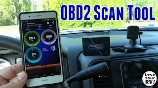 New Gadget For The Truck Bluedriver Obd2 Pro Scan Tool Youtube