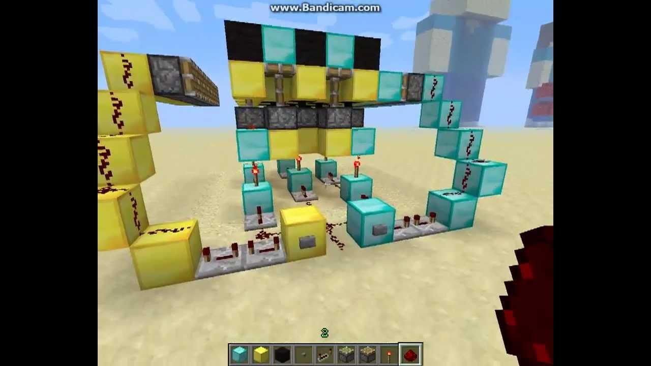 Как сделать карьер в minecraft