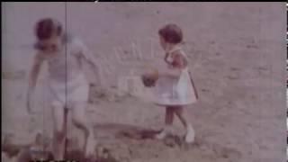 Beach Fun On The Isle Of Man, 1950s - Film 97770
