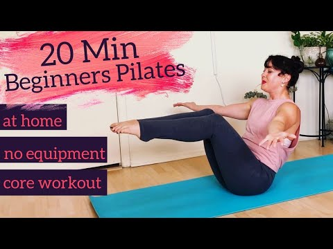 Pilates Rolling Like a Ball: Beginner Pilates with Kait