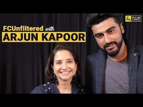 Arjun Kapoor  with Anupama Chopra  Half Girlfriend  FC Unfiltered
