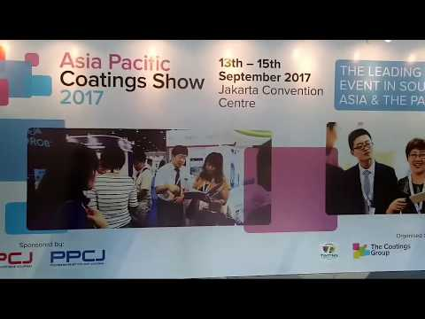 Asia Pacific Coatings Show 13-15 September 2017 | Jakarta Convention Center - Indonesia | APCJ