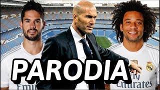 Canción ZIDANE Vuelve al Madrid (Parodia Soltera - Lunay) R.Madrid vs Celta 2-0