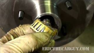Replacing Rotors With Tapered Roller Bearings - Ericthecarguy