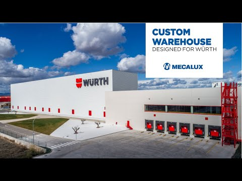Warehouse automation at Würth's Logistics Centre in Spain | Mecalux