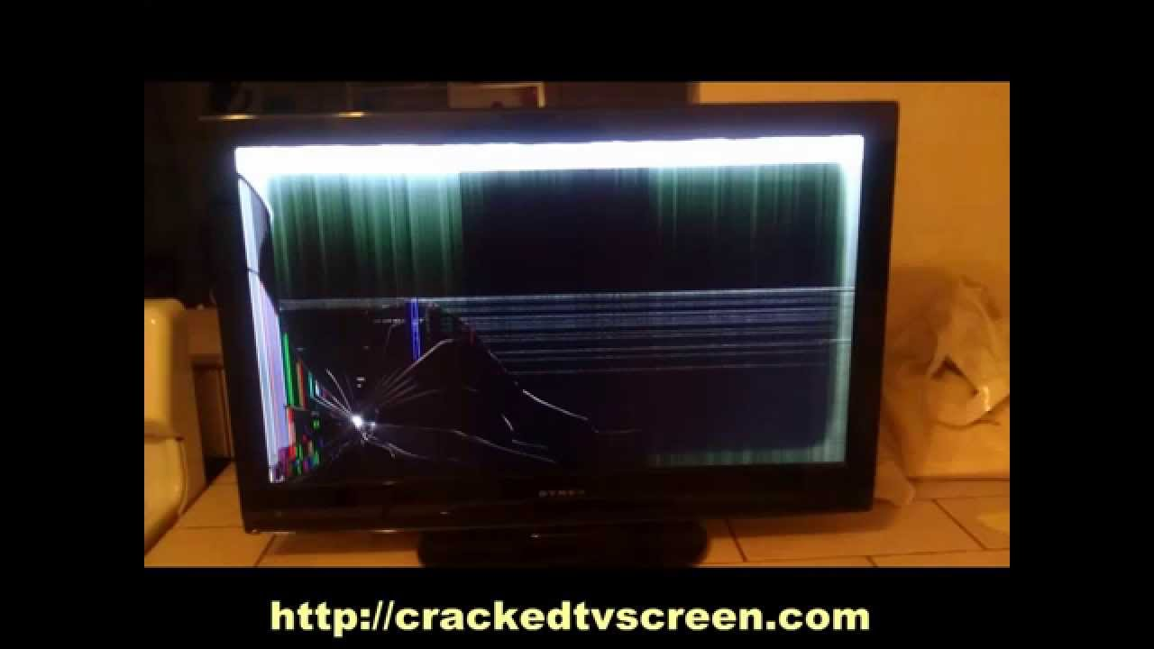 find local tv repair shop call 855 816 0435 cracked tv