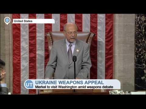 US-EU Ukraine Policy Split: Merkel set to visit Obama in Washington amid weapons debate