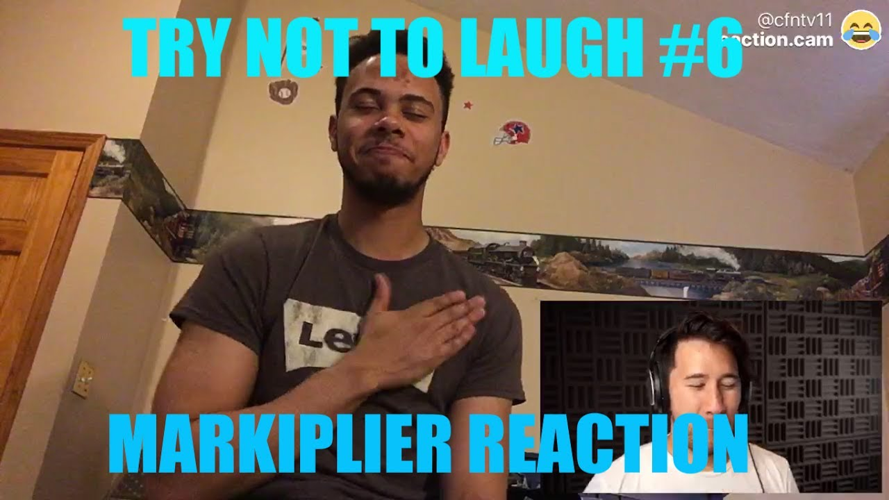 TRY NOT TO LAUGH #6 REACTION!!!! | Markiplier Reaction ... Markiplier Try Not To Laugh
