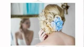 Свадебная Прическа Цветами Фото