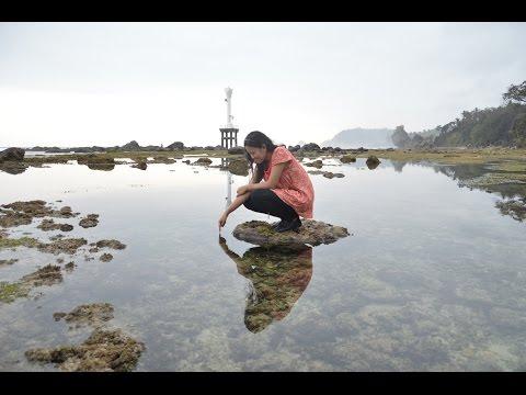 Pantai Pidakan, Pantai di Pacitan dengan Bebatuan yang Elok