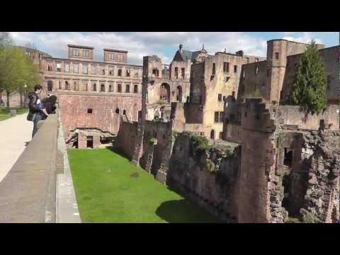 Heidelberg: Schloss ist die berühmteste Ruine Deutschlands most famous ruin in Germany