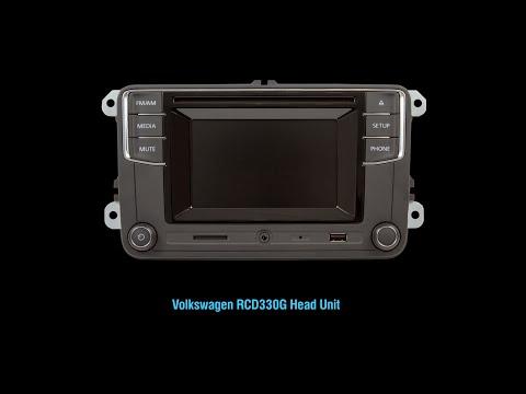 Quick Look at Volkswagen RCD330G Head Unit