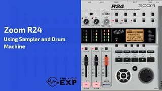 Zoom R24 Using Drum Machine and Recording Sampler Loops