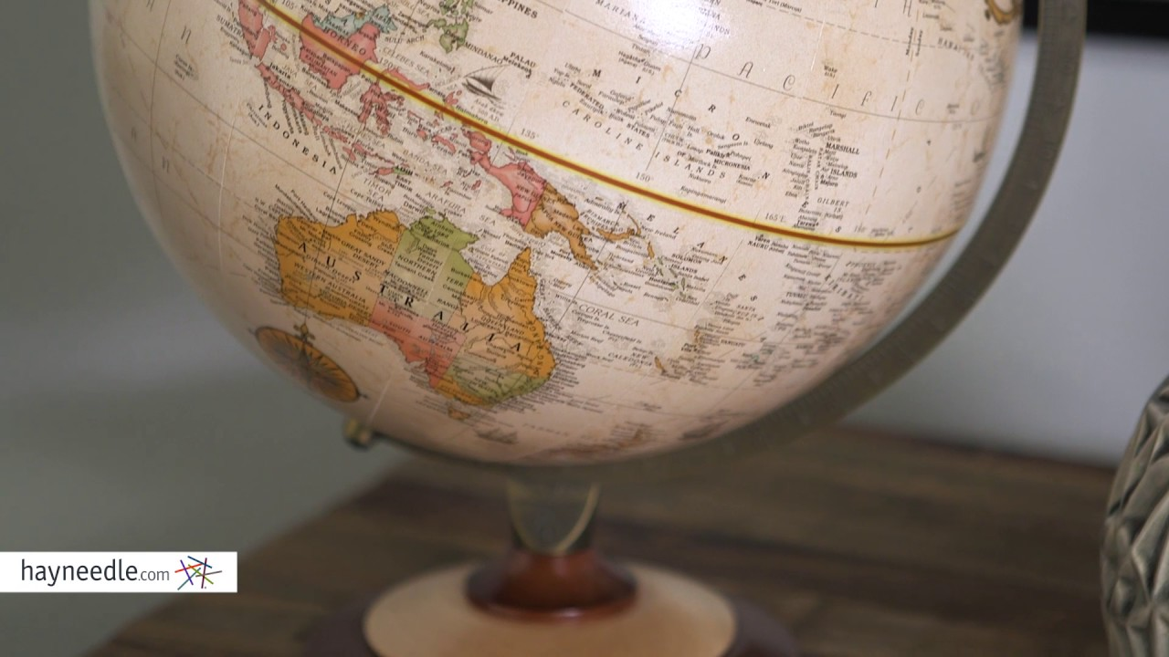 Replogle M 12 In Antique Desk Globe Review