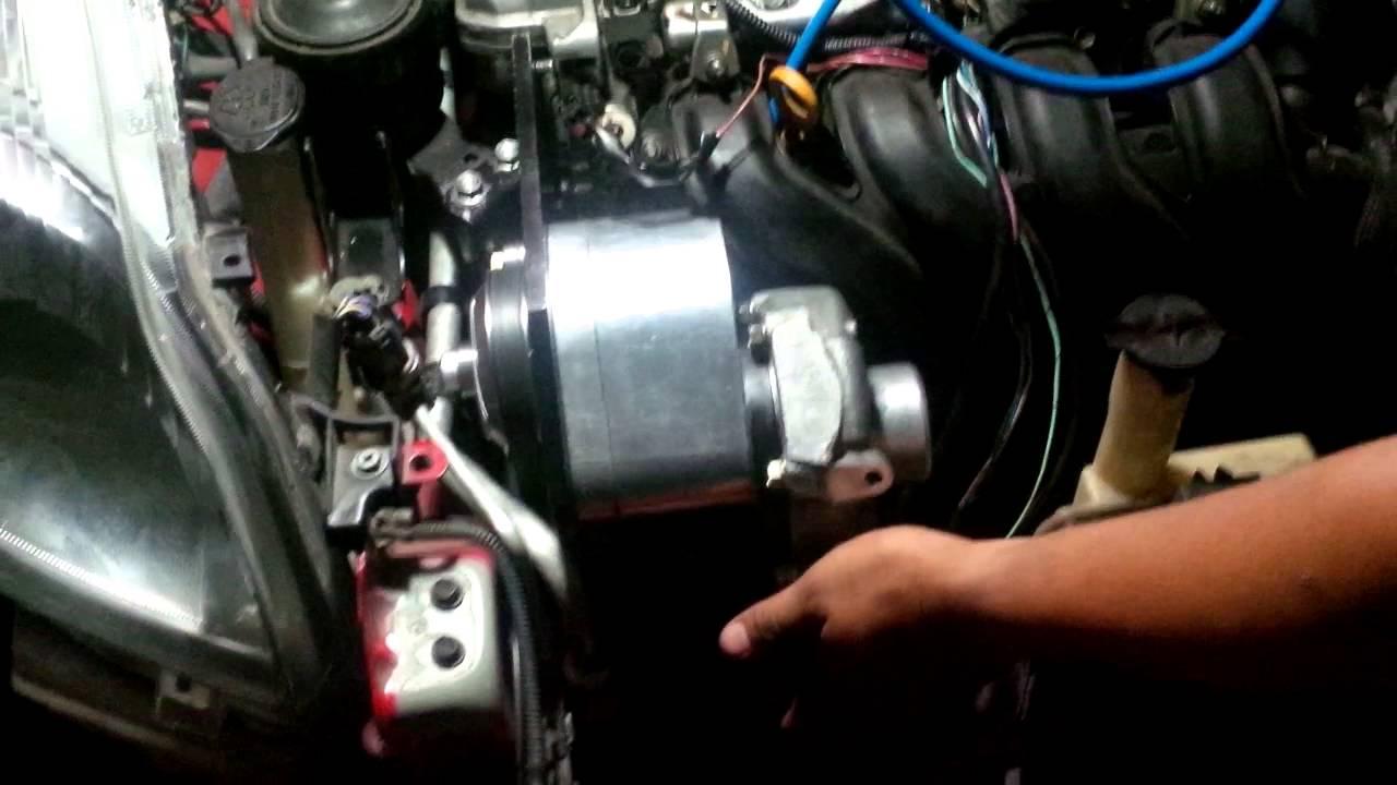 Homemade Sentrifugal supercharger