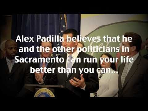 Alex Padilla - Misplaced Priorities