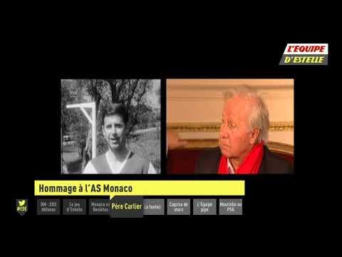 Foot   Carlier  Hommage à L''AS Monaco 1963 par la chaine L'Équipe