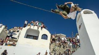 Urban Body Artists Rock The Caldera - Red Bull Art Of Motion 2013 Santorini