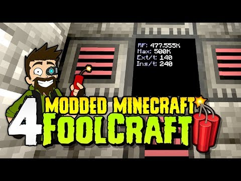 FoolCraft 3   #4   Plastic IS Fantastic!   Modded Minecraft 1.12.2