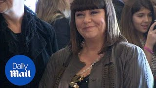 Dawn French steps onto red carpet at Spice Girls musical - Daily Mail